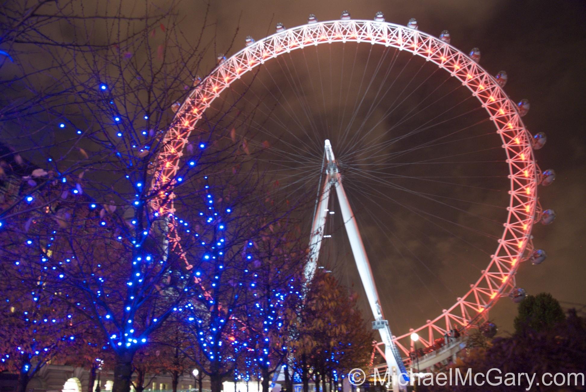 Christmas London Eye