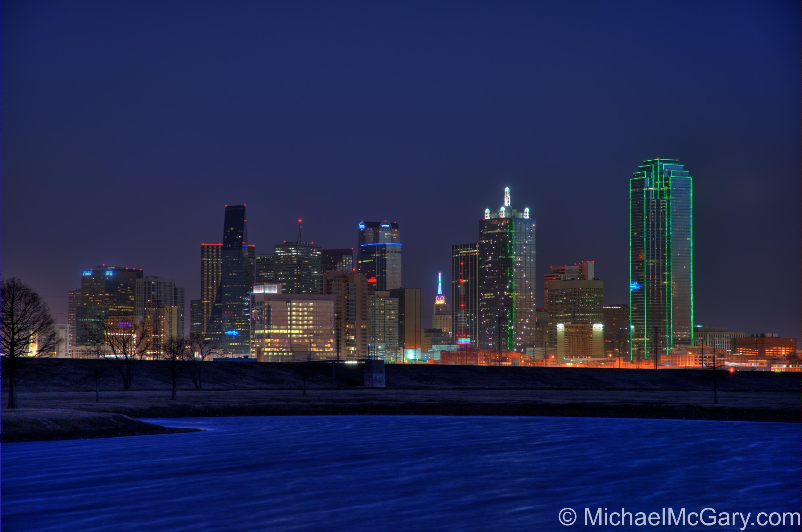 Night Time in Dallas