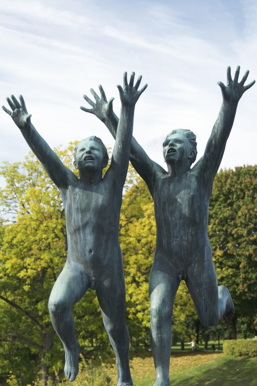Vigeland\'s Sculpture Park Oslo Norway
